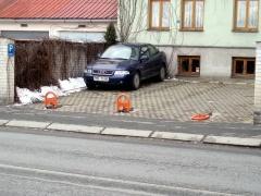 Parkovací zábrany
