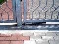 Vjezdové brány dvoukřídlové