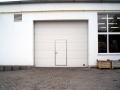 Garážová vrata sekční průmyslová